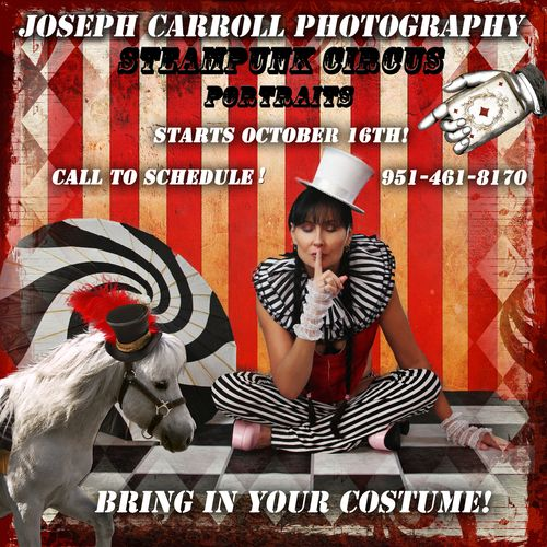 JOSEPH CARROLL STEAMPUNK CIRCUS2